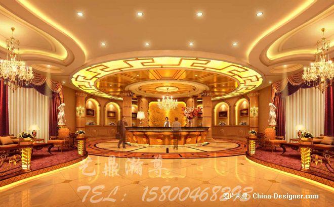 《酒店大堂》-设计师:黄德胜图片