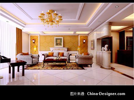 新中式堂屋装修效果图