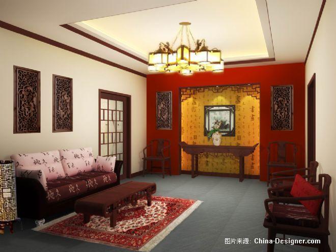 别墅-堂屋;; 标题: 别墅-堂屋   黑色装修效果图; 别墅-堂屋   客厅
