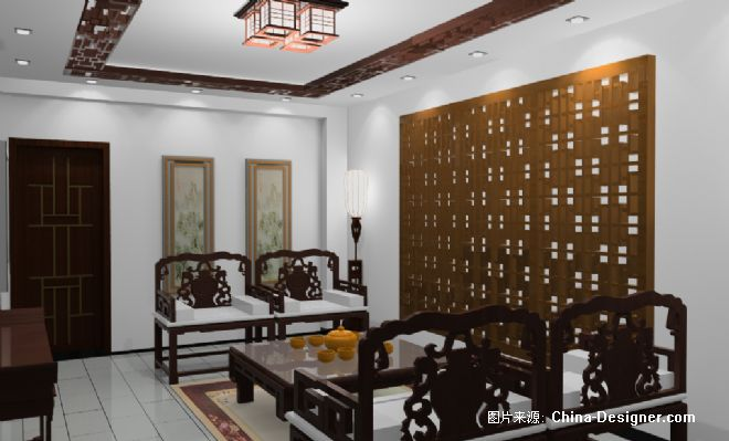 茶楼-小辉的设计师家园-中式图片