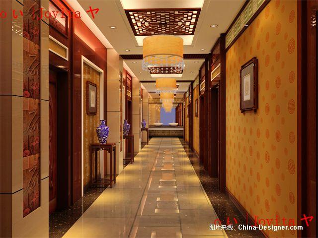 走廊(天府火锅-分店-平顶山)-董姣(阿姣)的设计师家园-中式图片