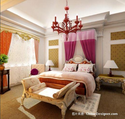 欧式别墅主卧-霍崛峰的设计师家园-欧式图片