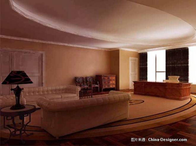 董事长古典办公室1-王义国的设计师家园-欧式