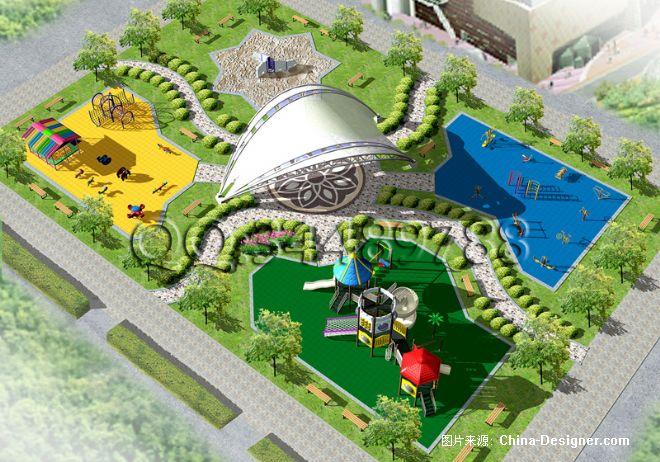 室外广场娱乐健身休闲-陈扬的设计师家园-乐园