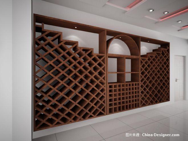 红酒区-高旭的设计师家园-中式图片
