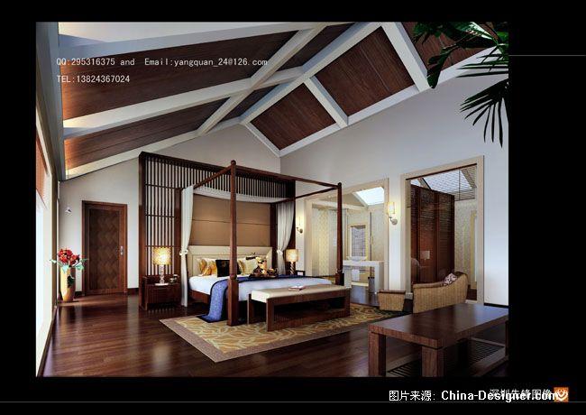 泰式风格卧室-先锋效果图的设计师家园-绚丽,奢华图片