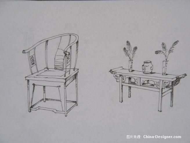 中式家具-李渭的设计师家园-中式
