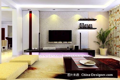 2012客厅影视墙效果图