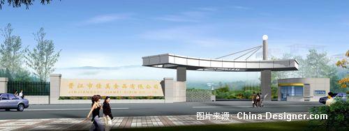 小钟佳美大门2拷贝-鼎立建筑表现的设计师家园-欧式