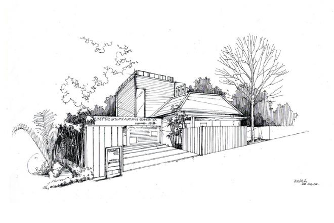 手绘线描-石宝意的设计师家园-现代