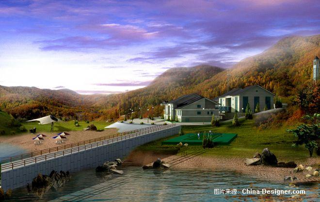 《松花湖风景区效果图》-设计师:艾特·玛纳(北京)