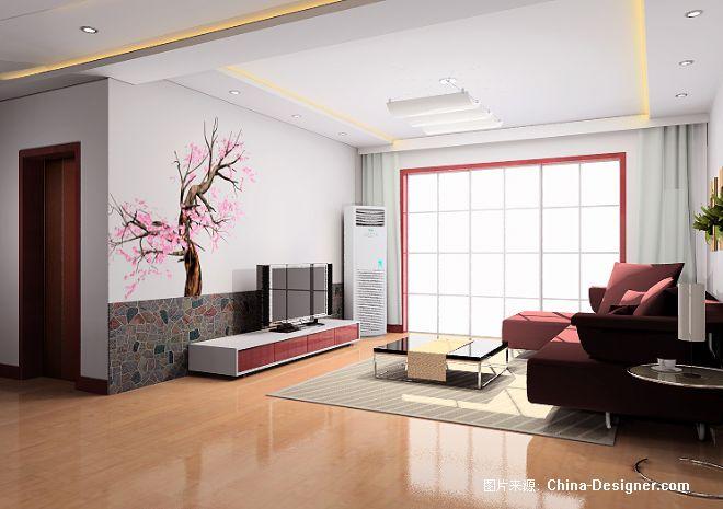 2手绘影视墙-魏霞的设计师家园-中式