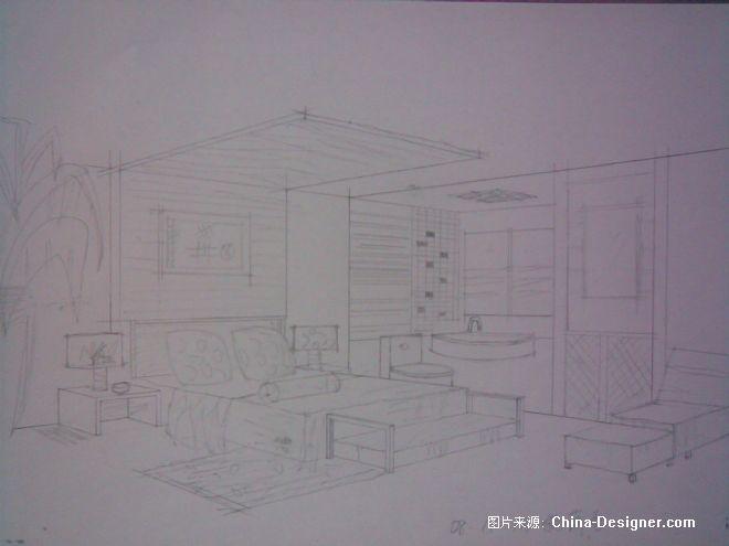 《两点透视》-设计师:杨潇雪.设计师家园-fly-#中国与