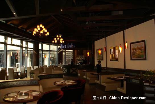 餐馆木质吊顶