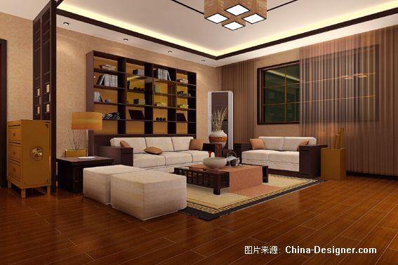 《新中式4》-设计师:金鑫.设计师家园-七彩人生-#中国图片