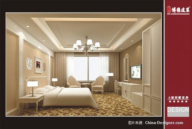 《酒店a型别墅客房》-设计师:博雅建筑装饰设计工程