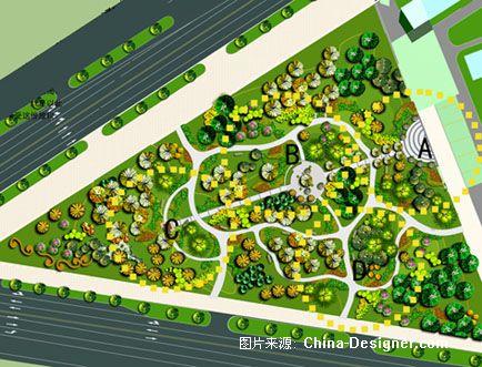 平面2-谭晓丹的设计师家园-三角绿地图片
