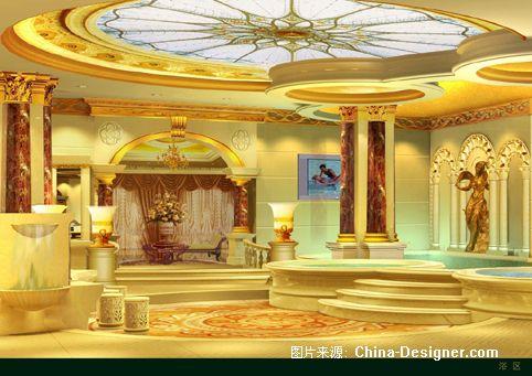 洗浴中心设计2-滕飞的设计师家园-欧式图片
