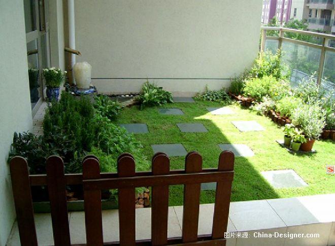 屋顶花园植物屋顶花园水生植物-屋顶花园的设计师家园-别墅,绿色,欧式