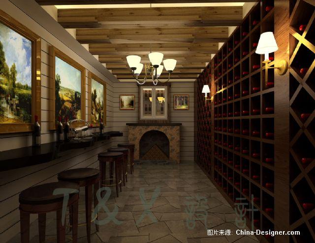 《欧式酒窖设计方案》-设计师:田会欣