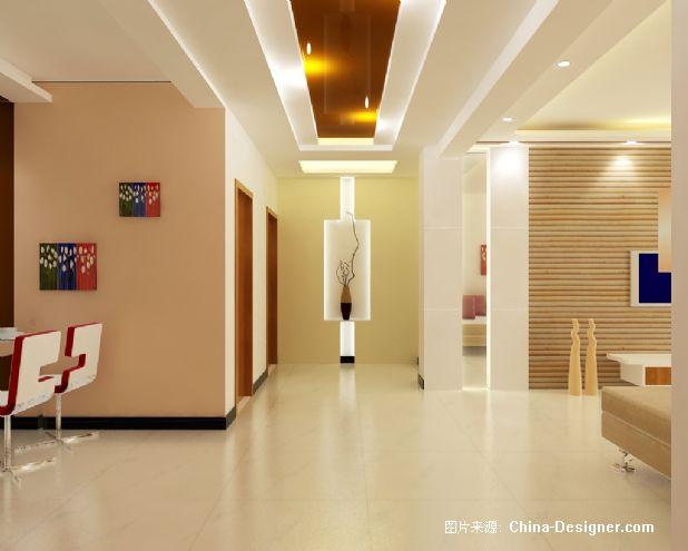 《端景墙》-设计师:刘芳芳图片