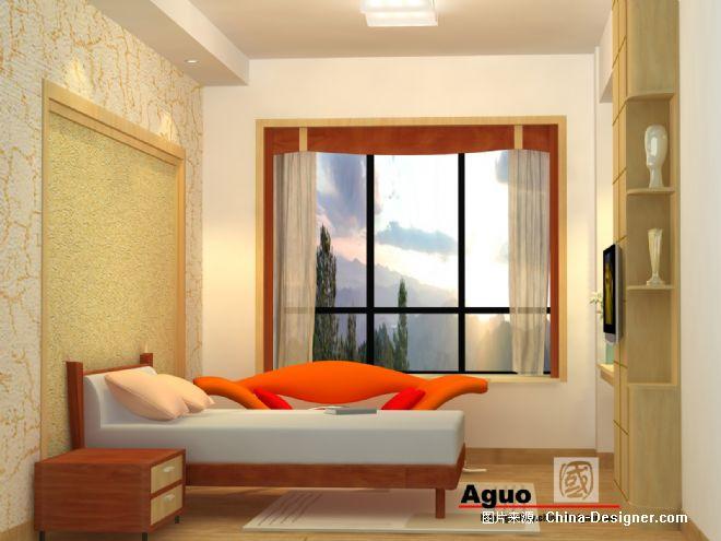 主卧室-江志国的设计师家园-卧室,黄色,现代