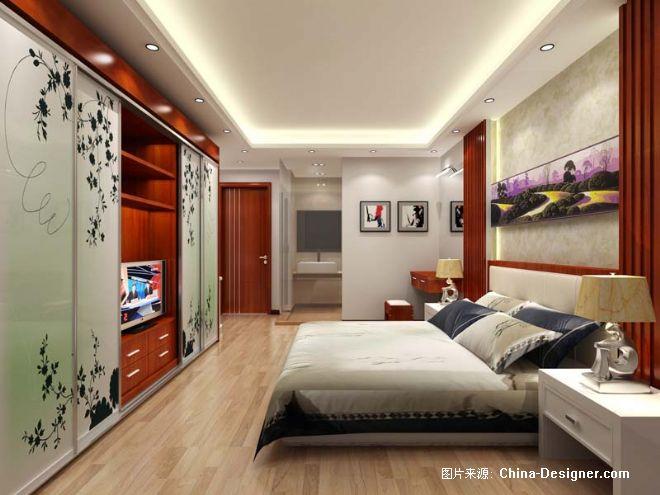 主卧室效果图-小彬的设计师家园-现代
