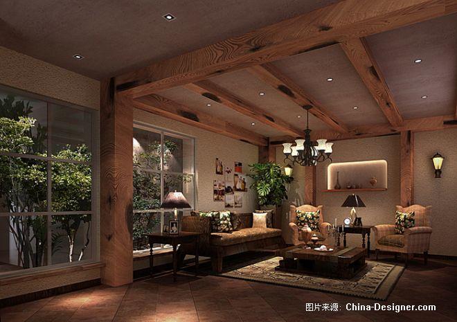 视听室-成龙的设计师家园-别墅图片