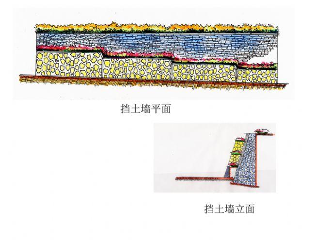 景墙(毕业设计)-zhangjie的设计师家园-绿色