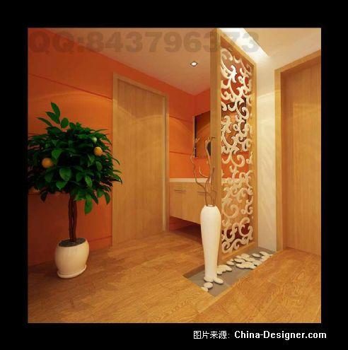 设计师家园-室内设计,效果图,装修; 通道端景-63号装饰创意工坊的设计