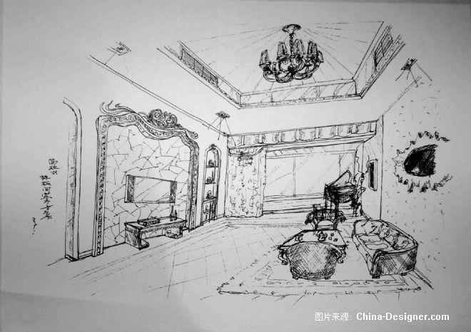 室内装修手稿室内装修140图片14