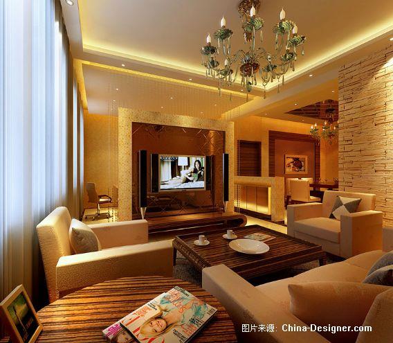 客厅-陆宏的设计师家园-中欧图片