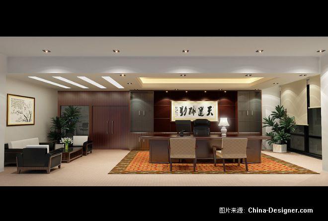 老板办公室-何喜的设计师家园-现代,中式图片