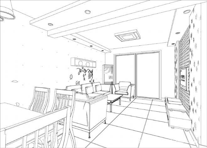 室内设计画图手绘图_室内设计画图手绘图分享展示