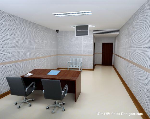 数字化审讯; 审讯室-gw工作室的设计师家园-现代
