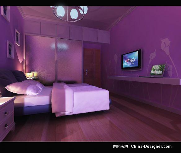淡紫色房间搭配