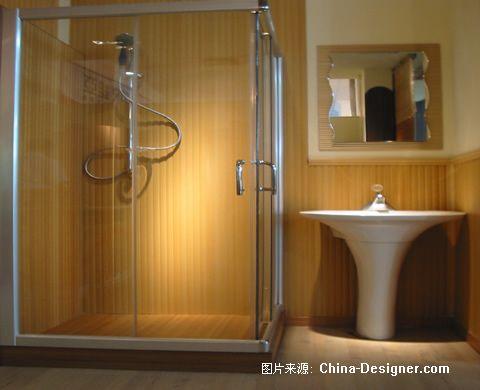 《卫生间9》-设计师:绿可生态木装饰有限公司