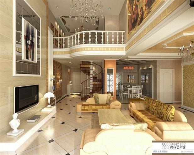 《欧式客厅》-设计师:zqj
