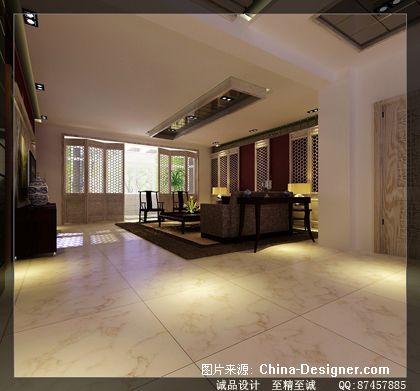 室内设计棕色展板