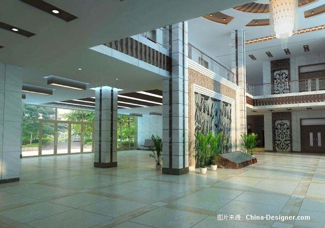 《实验楼大厅3》-设计师:王春晖.设计师家园-图·无√