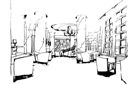 室内手绘(单体 组合 效果图)表现1