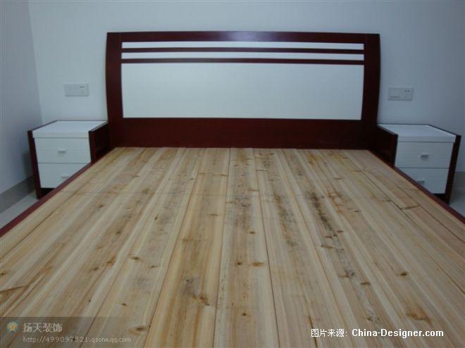 卧室简单造型床铺-杨巧生的设计师家园-现代