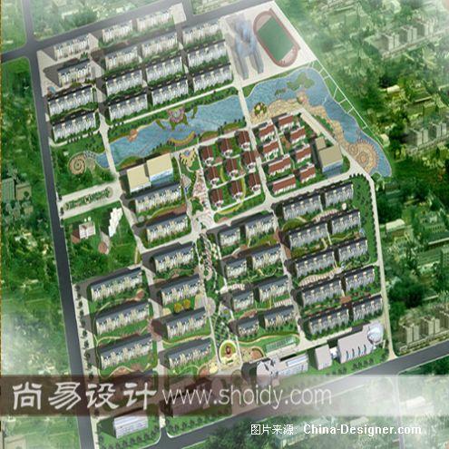 《天津市大港区凯旋苑小》-设计师:天津尚易东源设计