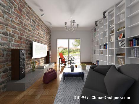 结构主义-付羽佳的设计师家园-客厅