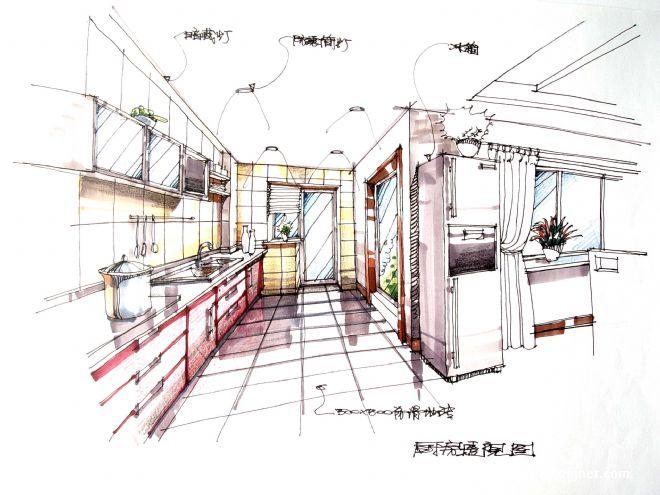 室内平面图素材卫生间黑白线稿