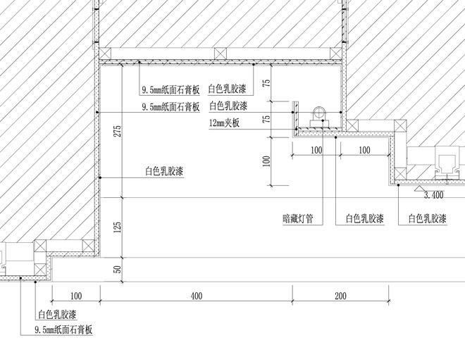 天花吊顶大样图a-广州市明源装饰设计的设计师家园-施工图深化设计,施图片