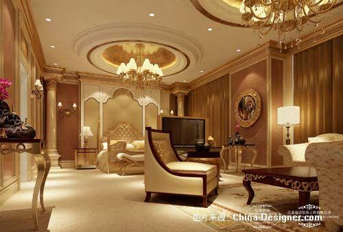 总统套房卧室x-季海斌的设计师家园-欧式