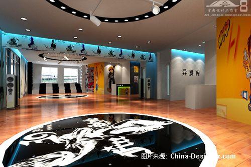 街舞室3-a8_室内设计工作室的设计师家园-现代