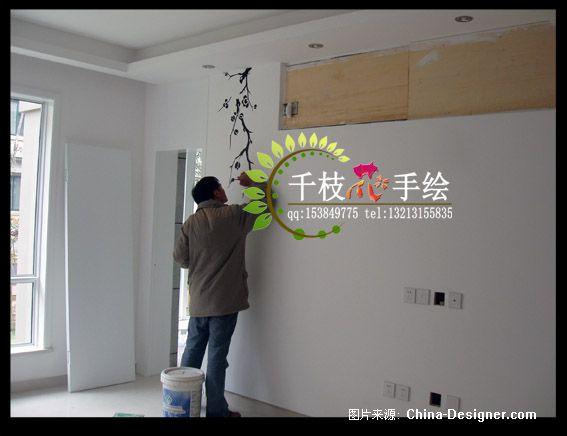 森林半岛电视背景1-萧钖的设计师家园-郑州墙绘,郑州手绘墙
