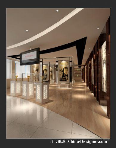 荣誉室效果二-浙江东驰建筑装饰有限公司的设计师家园-200万以上,办公